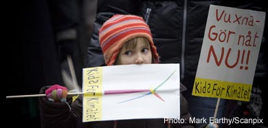 Climate protesters demand action