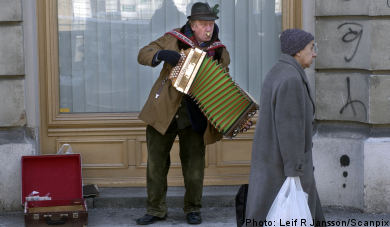 Busker beware: Gothenburg traders close to tears