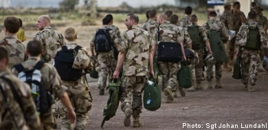 Sweden counts cost of Chad extension