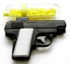 Police raid on gang clubhouse reveals toy gun