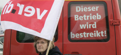 Germany threatened by massive public sector strikes