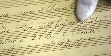 Long-lost Bach composition found