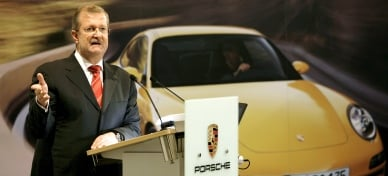 Porsche chief bugged with baby monitor