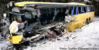 Bus driver convicted for deadly crash