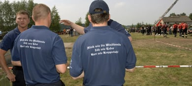 Firefighters feel the heat for Hitler Youth t-shirt slogan