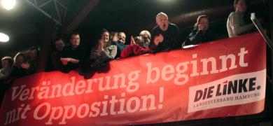 German authorities to warn against Left party extremists