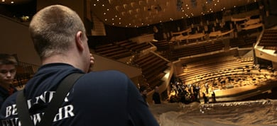Berlin Philharmonic fire extinguished