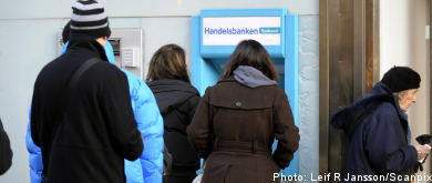 Riksbank: 'charge for cash withdrawals'