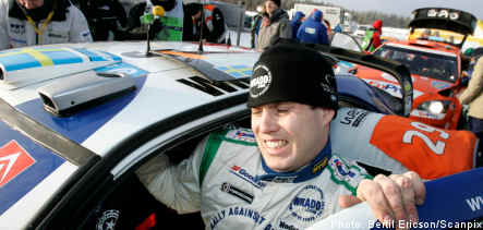 Swedish rally driver admits to driving drunk