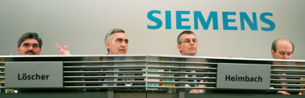 Siemens boss says firm is too German, white and male