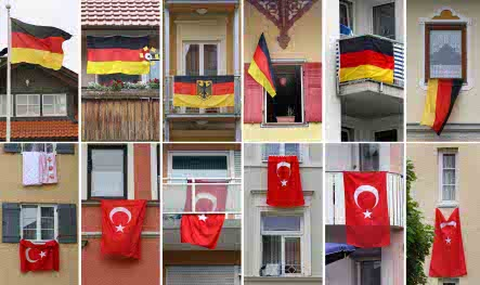 Germany prepares for massive football party