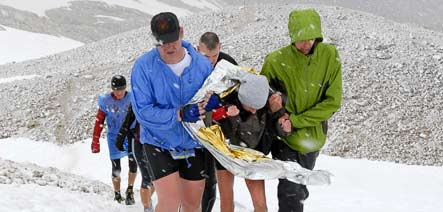 Two runners dead after storm overtakes extreme Zugspitze race