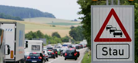 Germany threatened by traffic overload