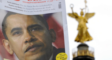 Germany warned Obama 'not coming just to be friendly'
