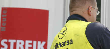 Lufthansa strike could see Olympians stranded