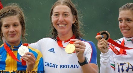 Cyclist Johansson claims first Swedish medal in Beijing