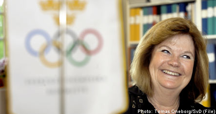 Lindberg becomes first woman to chair IOC session