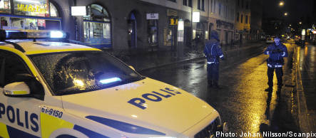 Man shot by police in Malmö