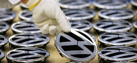 VW beats Ford to become world's third largest automaker