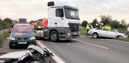 Four dead in A31 autobahn accident