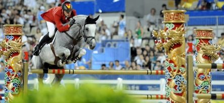 German Olympic horse disqualified for doping