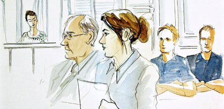 German woman requests new trial in Swedish child murder case
