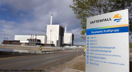 'Sloppy security' at Forsmark nuclear plant