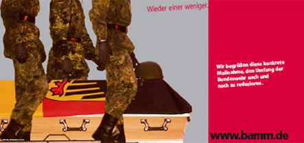 Pacifist poster with dead German soldier sparks outrage