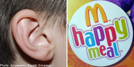 Happy Meal toys may cause hearing damage
