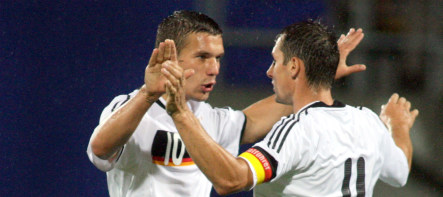 Germany victorious on pitch and TV