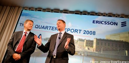 Ericsson shares up on strong report