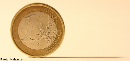 Support for euro rises in Sweden