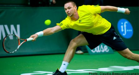 Söderling aces his way to Stockholm Open final