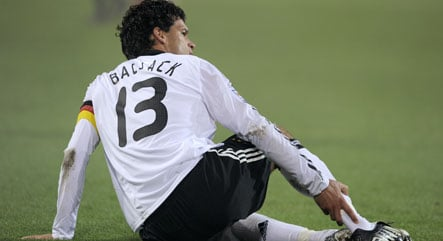 Ballack injury creates doubts for qualifier with Wales