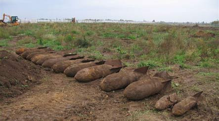 Thousands of WWII bombs uncovered in Köthen