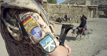 German checkpoint attacked in Afghanistan