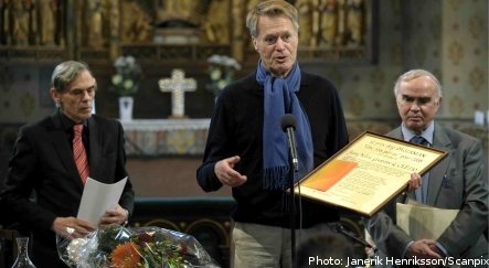 French Nobel laureate receives Swedish literature prize