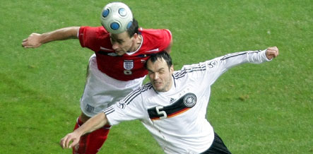 Terry seals England win over Germany