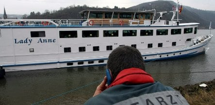 Vomiting bug traps pensioners on riverboat