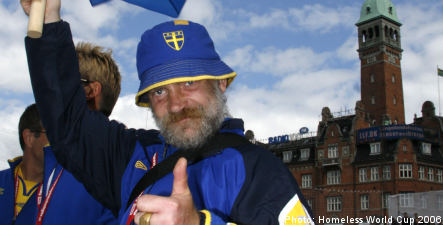 Swedish team clear for trip to Homeless World Cup