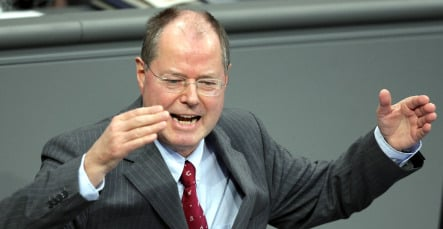 Finance minister admits Germany is in a recession