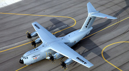 US suggests Boeing alternative amid A400M transport woes