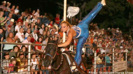 All American Cowgirl Chicks steal Stockholm show