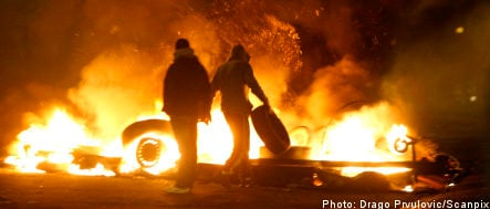 Rioting breaks out in Malmö suburb