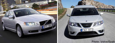 Sweden to offer loans to Volvo and Saab