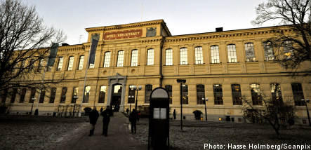 Swedish national library in child porn scandal