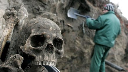 Polish mass grave likely German civilians killed in WWII