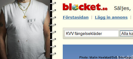 Bid to sell Swedish prison clothes online backfires