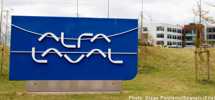 Alfa Laval to trim 300 jobs in Sweden