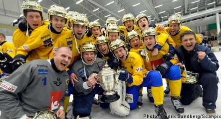 Sweden claims bandy world title
